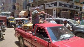 تحرير 12 محضر إشغال وإزالة 270 حالة في حملة مكبرة بالباجور