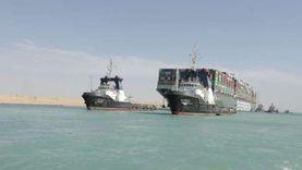 قناة السويس تسمح لفردين من طاقم «السفينة الجانحة» بالمغادرة لظروف إنسانية