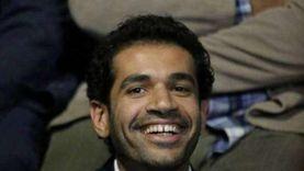 """صدقي صخر يدعم أحمد مالك قبل عرض """"حارس الذهب"""" بمهرجان الجونة"""
