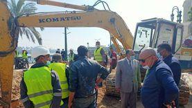 محافظ أسيوط يشدد على الانتهاء من أعمال إصلاح خط غاز بـ«كورنيش النيل»