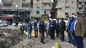 تشميع صيدليات وكافتيريات وإزالة محطات محمول مخالفة بالجيزة