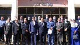 جامعة المنيا تطلق 10 قوافل متكاملة لقرى المحافظة
