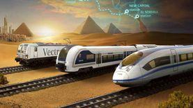 15 معلومة عن تفاصيل تنفيذ شبكة القطار الكهربائي السريع في مصر