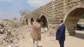 محافظ القاهرة يوجه برفع مخلفات سور مجرى العيون خلال أسبوع