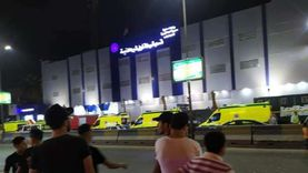 صور.. إصابة 18 محتجزا بقسم أول شبرا بالاختناق نتيجة حريق محدود