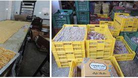 ضبط 6 طن حلوى منتهية الصلاحية داخل مصنع غير مرخص بالقليوبية