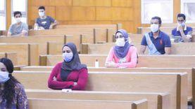 انتظام امتحانات طلاب جامعة مصر وسط إجراءات احترازية مشددة
