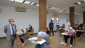 انطلاق اختبارات القدرات لطلبة الثانوية العامة بجامعة الأقصر