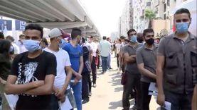 زحام في لجنة الجامعة العمالية بمدينة نصر