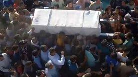 بالطبل والمزمار.. أهالي يشيعون جثمان أحد شيوخ الصوفية بدمنهور «فيديو وصور»