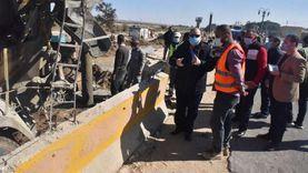 محافظ أسيوط يتفقد أعمال مشروع كوبري منقباد العلوي
