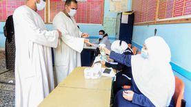 تزايد أعداد الناخبين بلجان العياط للتصويت في انتخابات مجلس النواب