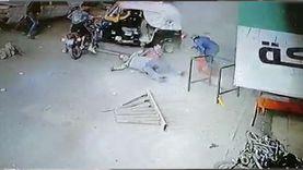 أسرة أحد مصابي حادث صفط اللبن: «كان رايح يصلي سقطت فوقه السيارة»