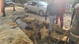 عاجل.. انفجار خط غاز طبيعي على بعد أمتار من مبنى محافظة الدقهلية