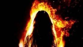 قبل وفاتها بيوم.. نرمين تتهم زوجها بحرقها بسبب «كوباية شاي» (فيديو)