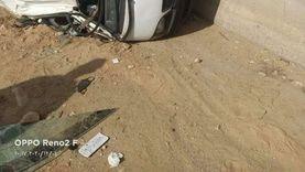مصرع شخص وإصابة 7 آخرين في حادثين بالسويس