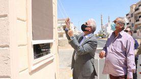 افتتاح طريق حي النور بمدينة شرم الشيخ