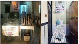 ضبط 20 طربة حشيش خلال حملات أمنية لمكافحة المخدرات بالمنيا والإسكندرية