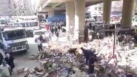 إزالة أكبر تجمعين للباعة الجائلين بالإسكندرية: بؤرتان للبلطجة