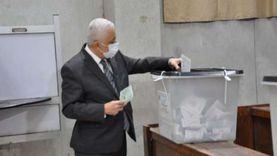 وزير التربية والتعليم يدلي بصوته في انتخابات مجلس النواب