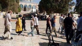 مستوطنون يقتحمون باحات الأقصى بحماية شرطة الاحتلال