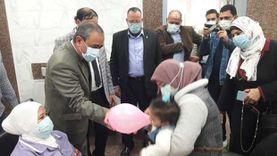 بالبلالين.. أطباء «السلام» يبدأون الحملة ضد شلل الأطفال بالإسماعيلية