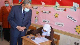 محافظ المنيا يتفقد لجان اختبارات الشهادة الإعدادية المجمع