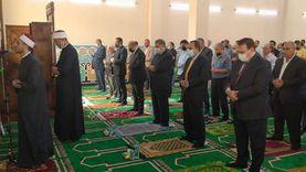 افتتاح مسجد نور الإسلام بتكلفة 8 ملايين جنيه في العريش