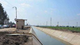 محافظ المنيا: إنهاء 166 كيلو متر من مشروعات تبطين الترع