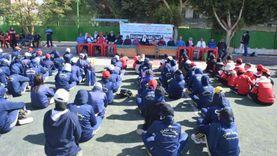 جامعة سوهاج تنظم معسكر رياضي للفتيات لمناهضة العنف ضد المرأة
