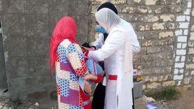 تطعيم 489 ألف طفل ضد مرض شلل الأطفال في المنيا
