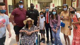 التنسيقية تصطحب الأمريكية جلوريا للمتحف المصري