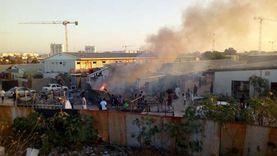 وسائل إعلام ليبية: انفجار في سوق جنوب مصراتة بسبب صاروخ