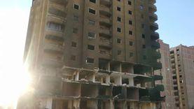 إجراءات تأمين إزالة عقار الجيزة المحترق بـ«التفجير».. منها وقف الدائري