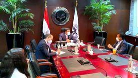عبد الوهاب يلتقي العضو المنتدب لشركة سيمنس.. والاتفاق على لقاء شهري مع ممثلي الشركات الألمانية في مصر
