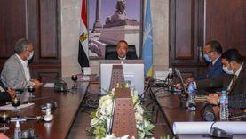 محافظ الإسكندرية يلتقي وفدا من صندوق تطوير العشوائيات