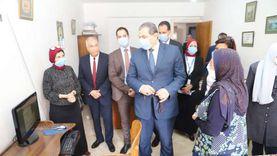 سعفان: تشغيل تجريبي شهرين للنظام الإلكتروني بالقوى العاملة بالإسكندرية