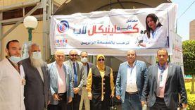 «معا لصحة أفضل».. يوم حافل بنقابة المهندسين للأعضاء وأسرهم