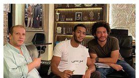 """محمد رمضان يعلن بداية جلسات عمل مسلسل """"موسى"""""""