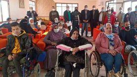 توزيع 250 شنطة رياضية على ذوي الهمم في الشرقية