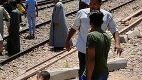 عاجل.. اصطدام قطار ركاب بمصد خرساني في محطة نجع حمادي