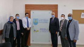 """وزير التعليم العالي يفتتح مركز التطوير المهني بـ""""تربية الإسكندرية"""""""