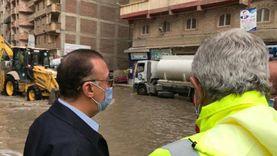 تعرف على خريطة تمركز سيارات شفط مياه الأمطار بأحياء الإسكندرية