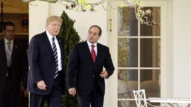 """عاجل.. """"السيسي"""" يتلقى اتصالاً من ترامب"""