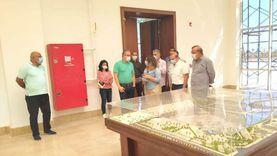 تمهيدا لافتتاحه.. وزير السياحة يتفقد متحف آثار شرم الشيخ