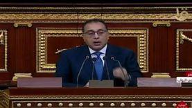 السجيني: اليوم كان تاريخيا في البرلمان بعد حضور مدبولي