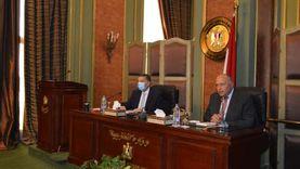 شكرى يجتمع بقيادات الوزارة ويؤكد على دورهم الهام في تنفيذ أولويات السياسة الخارجية