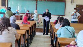جامعة المنيا تستقبل 502 طالب لأداء اختبارات القدرات بــ4 كليات