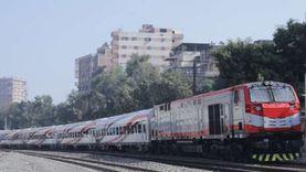 تهديات وتأخيرات السكة الحديد اليوم.. بنها - بورسعيد 45 دقيقة