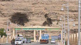 غلق الطريق المؤدي لقرى شرق النيل بمركز المنيا لمدة يومين
